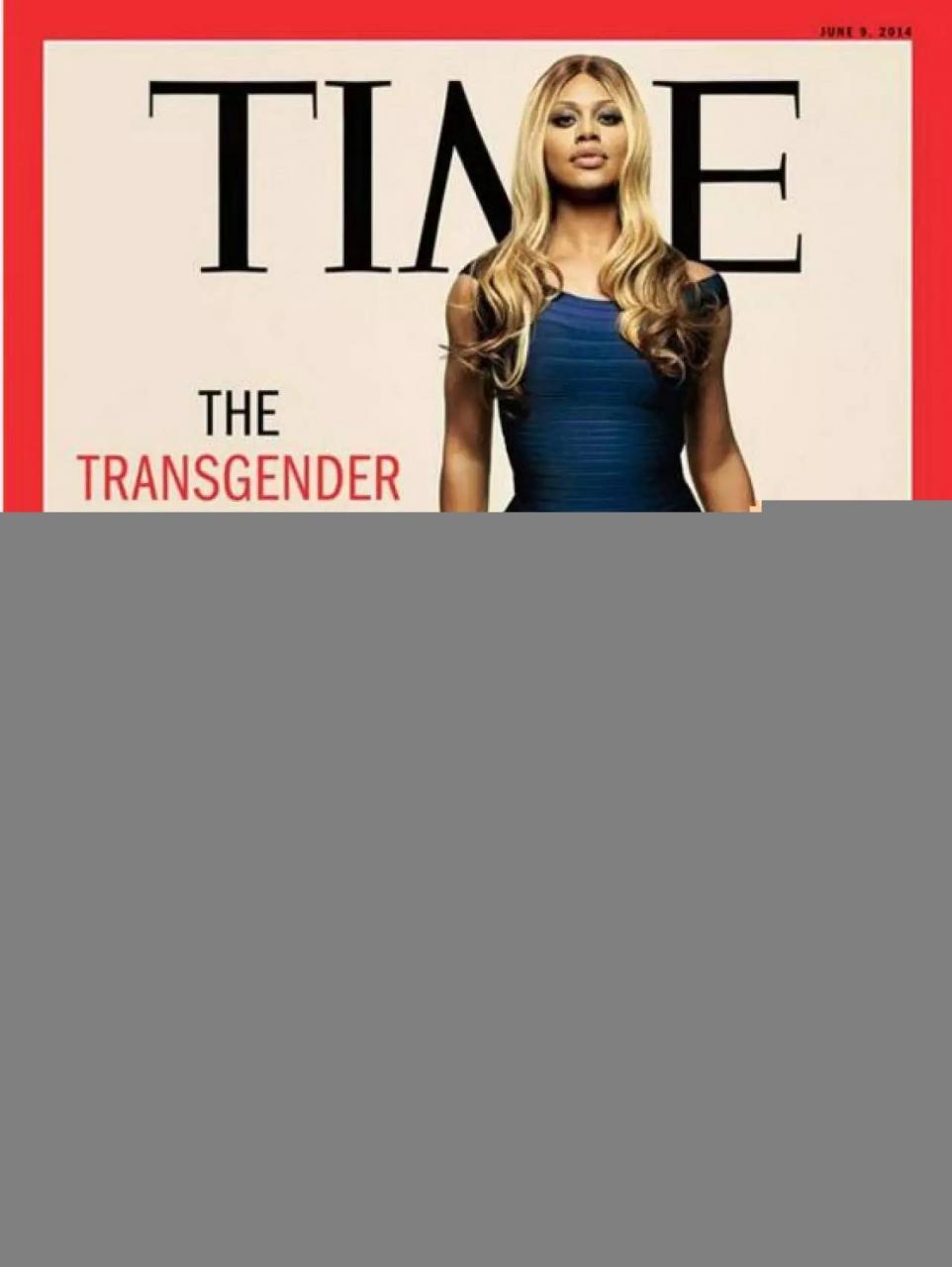 全美一叮助Celine晋级美国变性艺人Laverne Cox打破性别定型