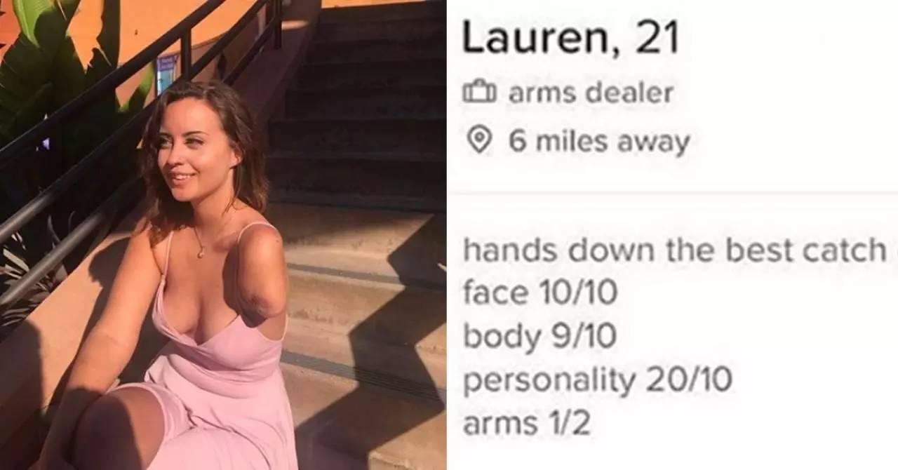 【热话】断臂美女幽默感爆灯自称做「手臂贩卖商」 手臂1分样貌10分